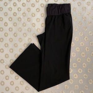 Gap Maternity Stretch Perfect Trouser Black Pant